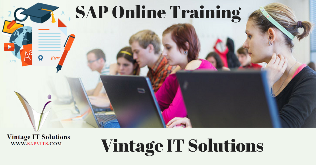 SAP Online Training Case Study